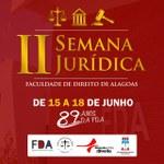 CHAMADA PARA A II SEMANA JURÍDICA DA FDA De 15 a 18 de junho de 2020