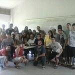 Estudantes organizaram homenagem ao professor Marcos Mello
