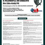 III Congresso de Teoria do Direito e Filosofia do Direito da ESA-OAB/PE
